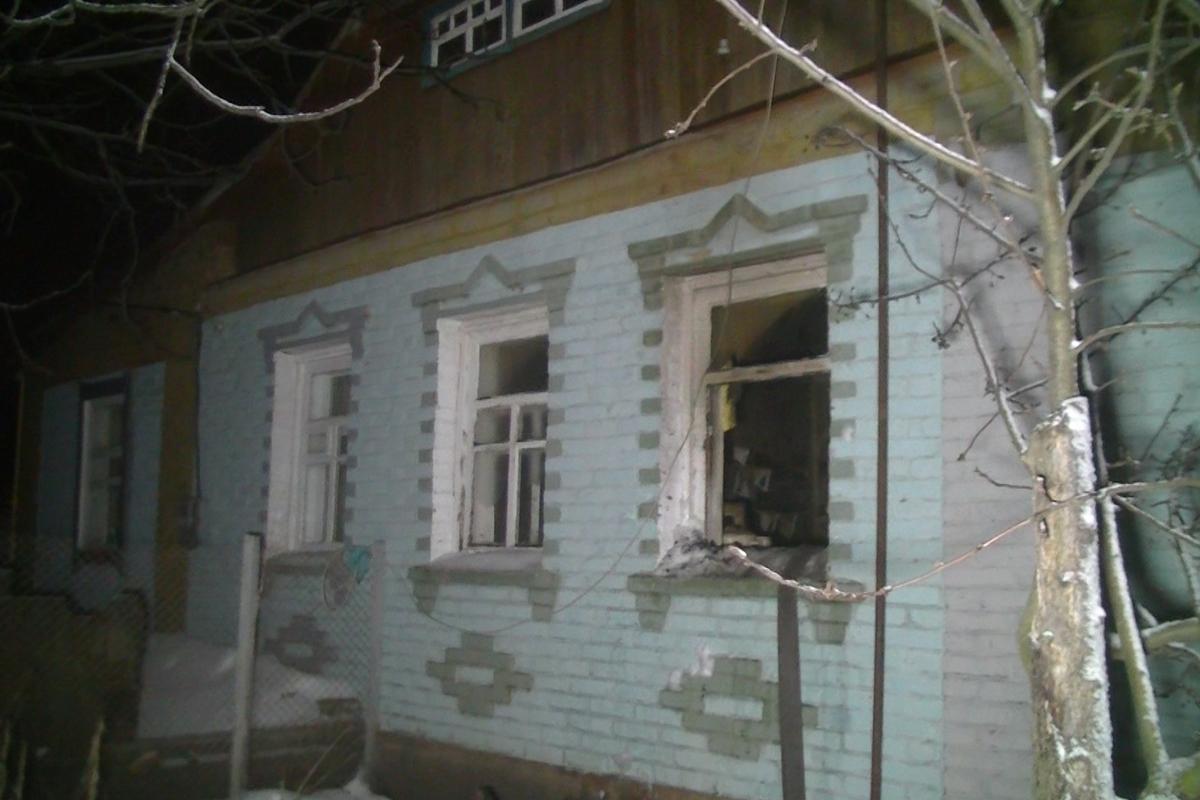 ВБольшой Рогани напожаре умер мужчина