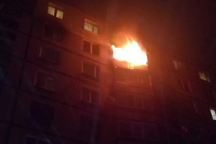 Врезультате пожара вхарьковской многоэтажке погибла женщина