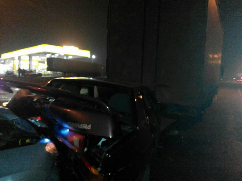 Столкнулись три машины (ФОТО)