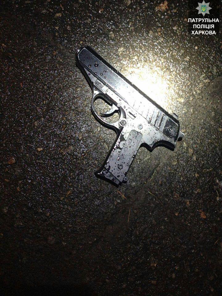 Мужчина с пистолетом избегал копов (ФОТО)