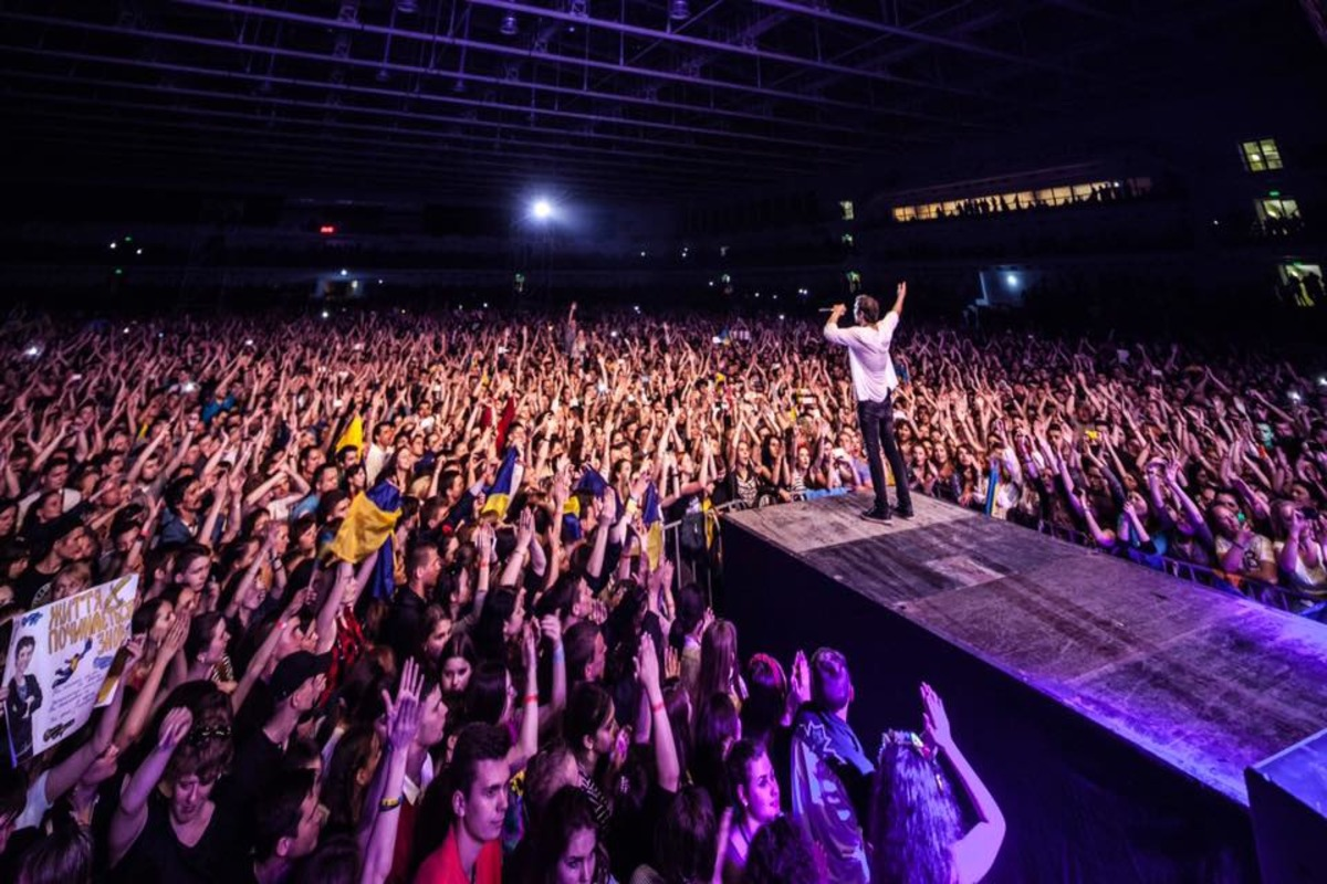 'Океан Эльзы осенью сыграет бесплатный концерт в Полтаве