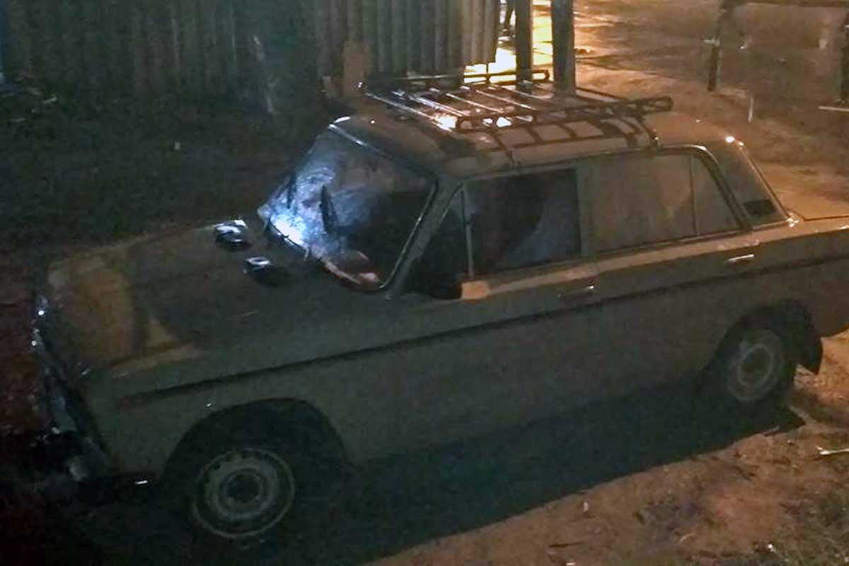 ПоХарькову рассекало авто без резины: появилось фото
