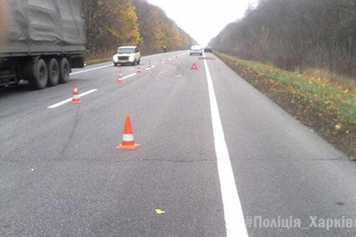 Два грузового автомобиля илегковушка столкнулись вКраснокутске— один погибший, четверо пострадавших