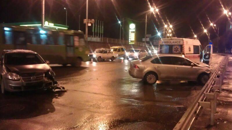 В ДТП на Шевченко пострадали два человека (ФОТО)