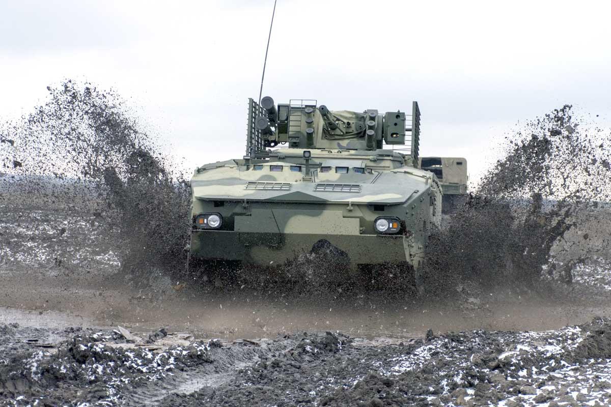 Постандартам НАТО: «Укроборонпром» продемонстрировал  тестирования  БТР-4МВ1