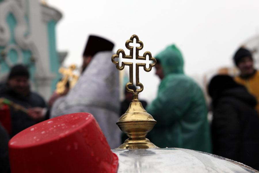 Икона Казанской Божией Матери впервый раз прибыла вСпасо-Преображенский храм Нижнего Новгорода