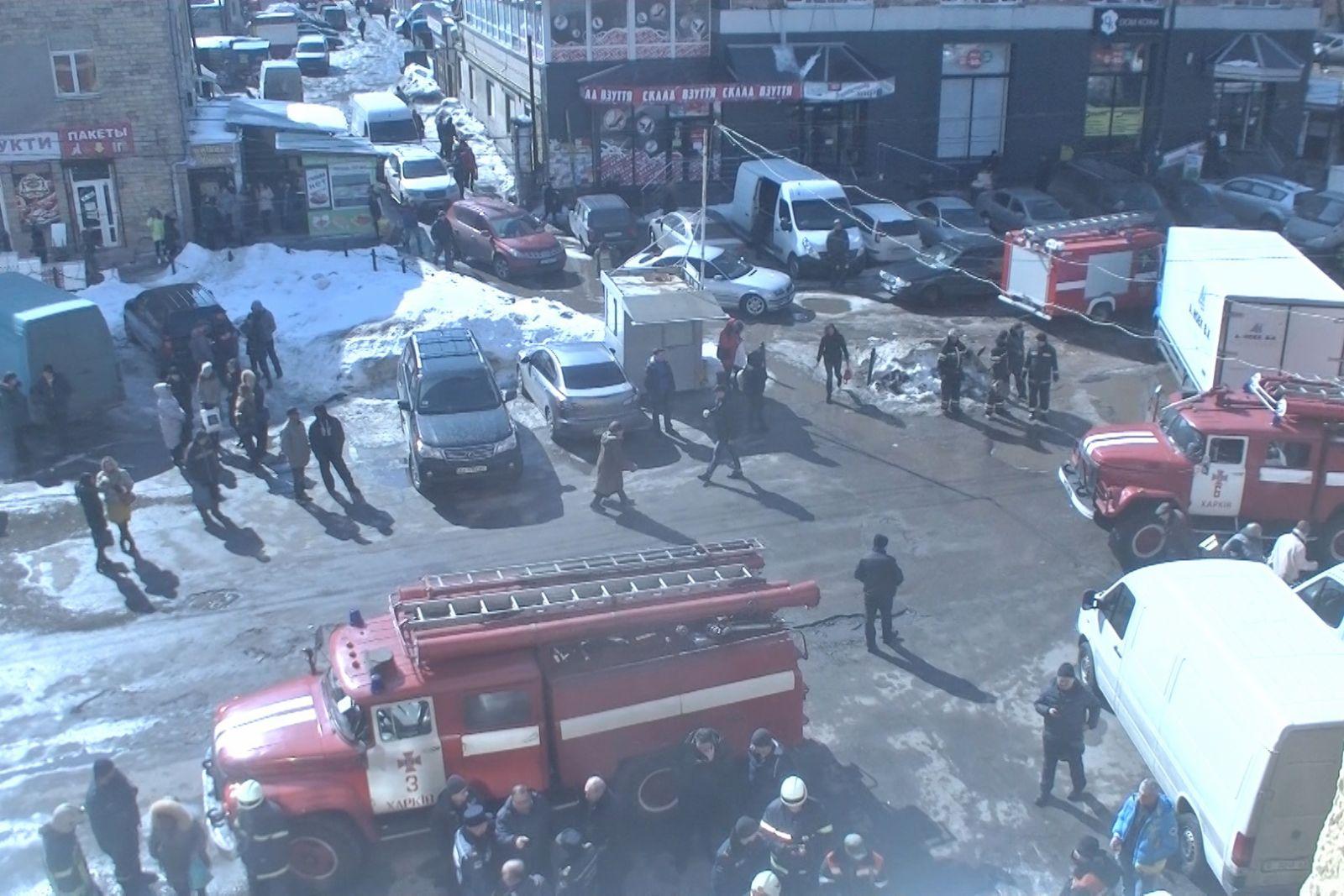Масштабный пожар вХарькове: эвакуированы неменее 30 человек