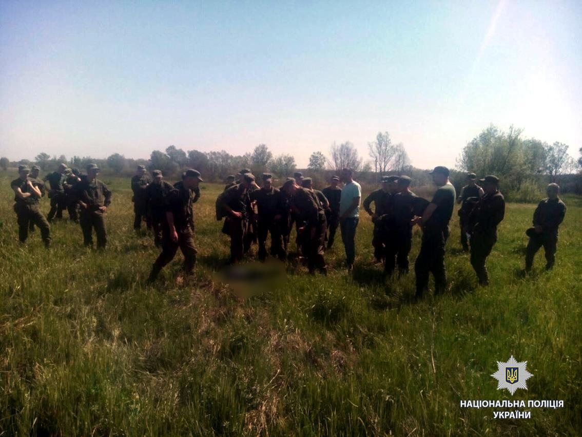 ВХарьковской области найдено тело ребенка, который находился врозыске