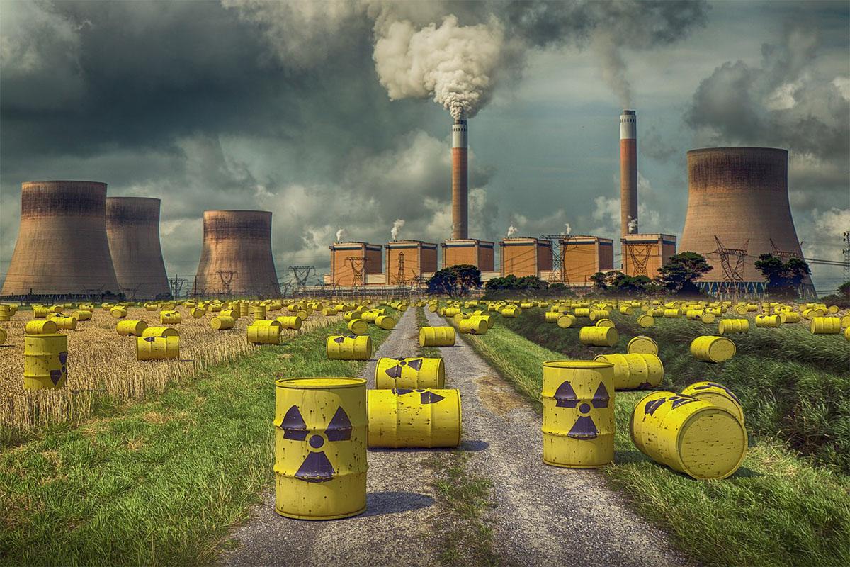 Радиоактивные отходы картинка