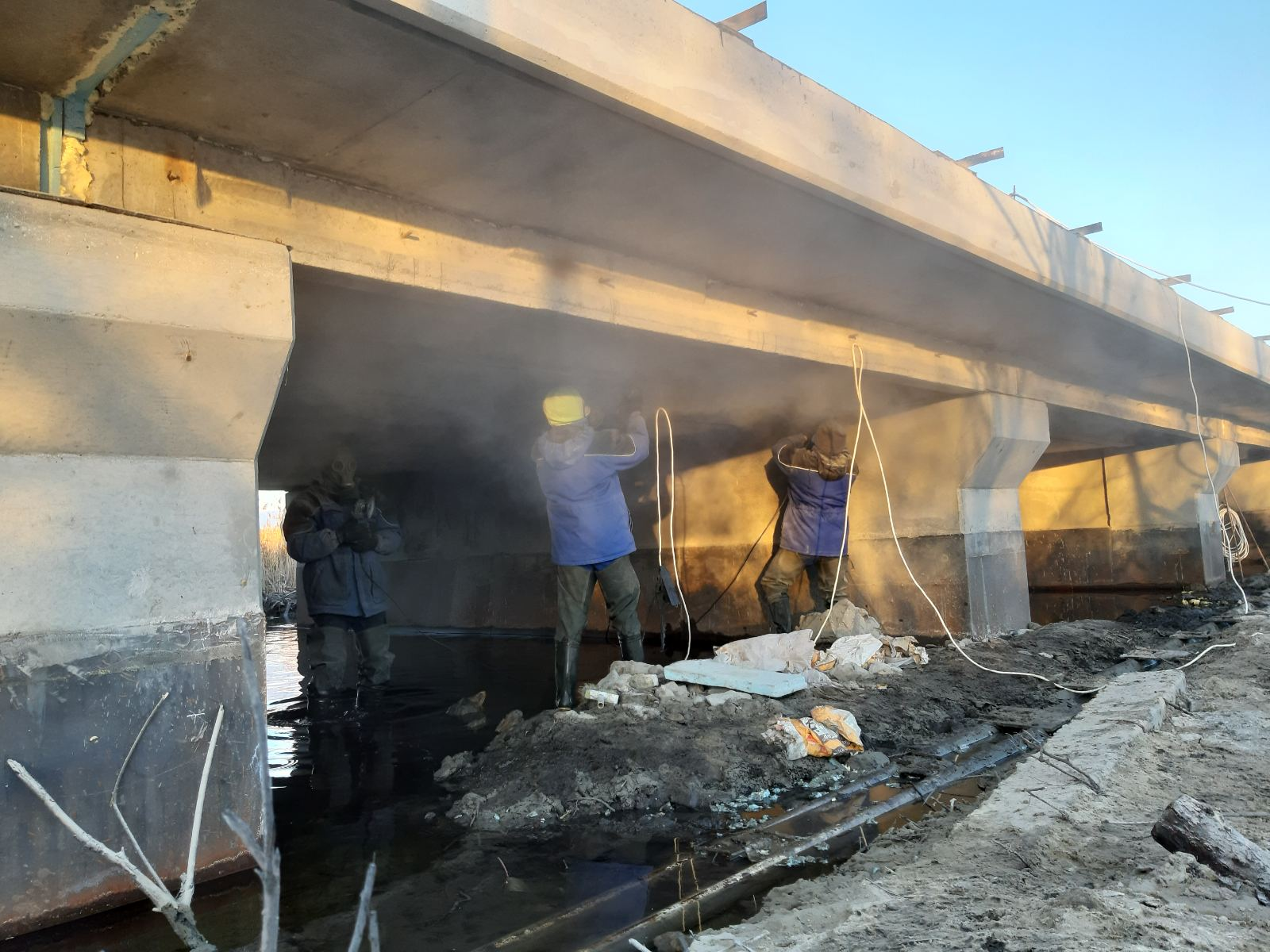 ремонт, мост, первомайский район