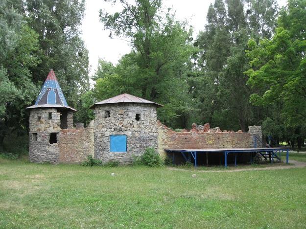 парк, реконструкция, крепость